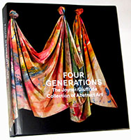 Four Generations The Joyner Giuffrida Collection of Abstract Art book,including work by David Huffman
